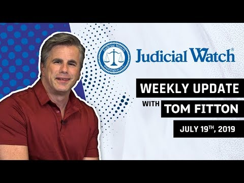 Tom Fitton: Obama State Dept. Caught in #RussiaGate, Ilhan Omar Marriage Scandal, KY Voter Rolls