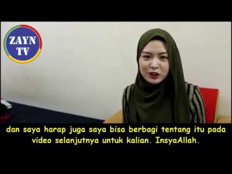 Mualaf Korea Selatan : Gadis Cantik Ini Awalnya Benci Islam, Tapi Kemudian...
