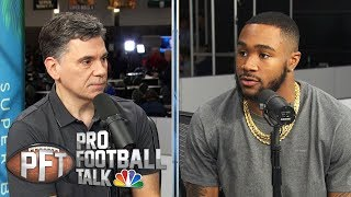 Miles Sanders talks Eagles injuries, rookie season (FULL INTERVIEW) | Pro Football Talk | NBC Sports