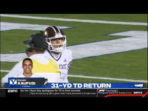 BYU Pick 6 vs. Texas State | NCAA Football