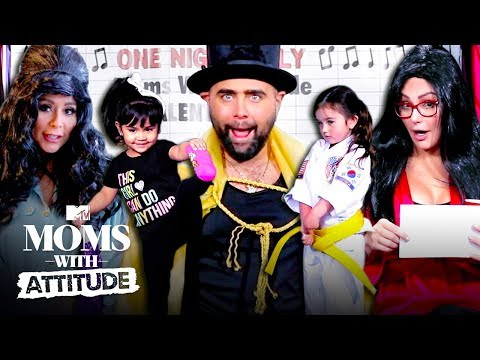 Snooki & JWoww Reenact 'Jersey Shore' For Their Kids   Moms with Attitude   MTV