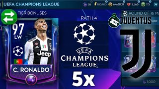 Cristiano Ronaldo hunt in FIFA Mobile 19! Insane champions league pack opening - CR7 crazy skills