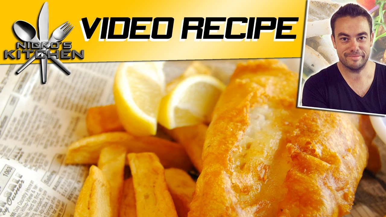 Fish N Chips Video Recipe Youtube