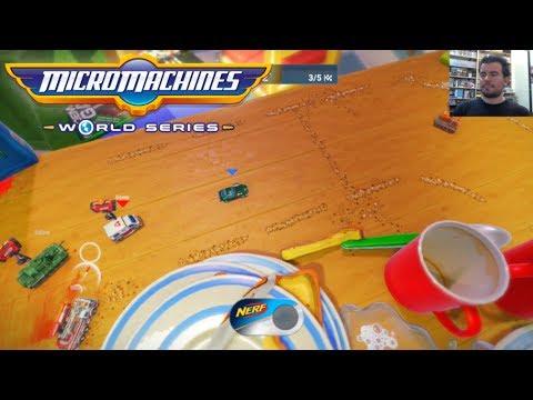 MICRO MACHINES WORLD SERIES (PC / PS4 / Xbox One) --- Gameplay en Español