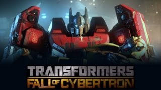 Transformers Fall of Cybertron (Game Movie-Full Length) {1080p}