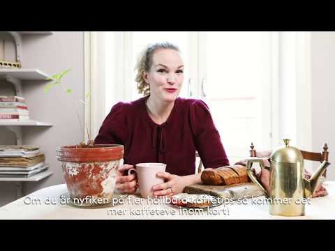Återbruk av kaffe - baka bröd med Emma Sundh