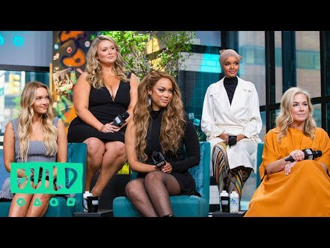 MJ Day, Tyra Banks, Camille Kostek, Halima Aden & Hunter McGrady On The 2019 SI Swimsuit Issue