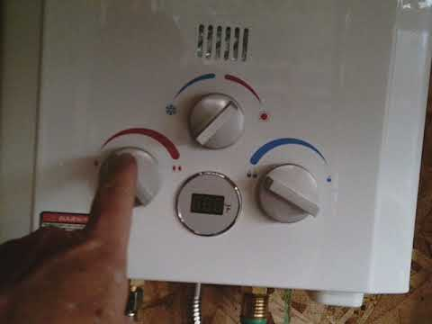 Hot Water Off Grid: On Demand Water Heater Install