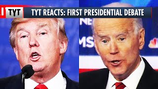 TYT Reacts: First 2020 Presidential Debate, Donald Trump vs Joe Biden