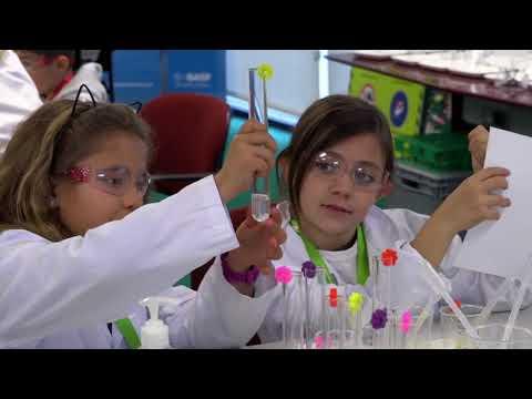 Kids' Lab de BASF en Castellbisbal