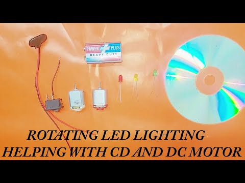 Rotating LED Lighting