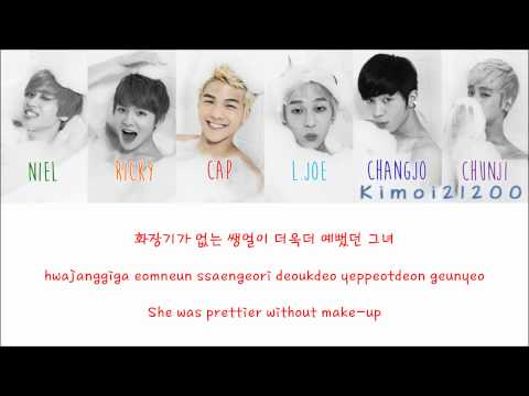 Teen Top - Miss Right (긴 생머리 그녀) [Hangul/Romanization/English] Color & Picture Coded HD
