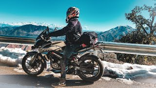 Mussoorie & Dhanaulti Snow | Winter Ride with brother's | Part 1