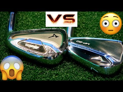 EXPENSIVE VS CHEAP: MIZUNO MP20 VS OLD MP59 BLADE