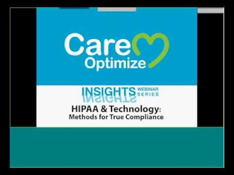 Insights17 HIPAA & Technology: Methods for True Compliance
