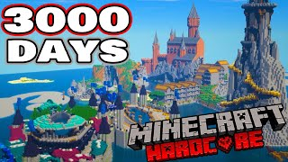 I survived 3000 Days in Hardcore Minecraft - The Movie