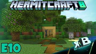 HermitCraft 8 | HORSE HEADS & TUNNELS! [E10]