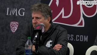 Mike Leach after Oregon win!  Oct. 7