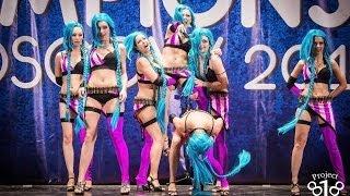 Cobra Style go-go dance ( gogo dance, high heels dance) on project818