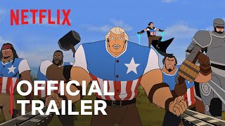 America: The Motion Picture   Channing Tatum   Official Trailer   Netflix