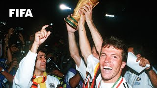 1990 WORLD CUP FINAL: Germany FR 1-0 Argentina