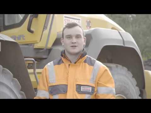 STRABAG Karriere - Deine Ausbildung als Baugeräteführerin/Baugeräteführer