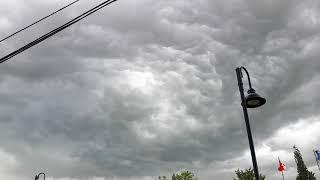 Tornado warning. Waited but nothing happened.