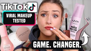 I Bought Every HYPED MAKEUP PRODUCT that TIK TOK MADE ME BUY