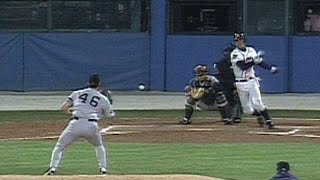 1996 WS Gm5: Pettitte pitches out of a jam in the 6th