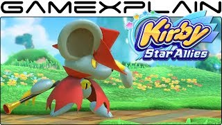 Kirby Star Allies - Daroach Overview Trailer (More Moves!)