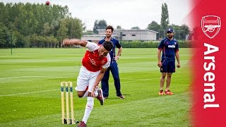 Can you bowl better than these Arsenal stars?