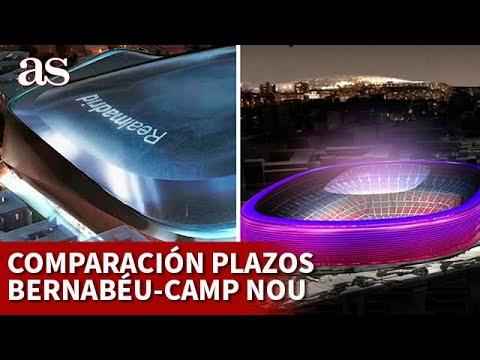 OBRAS | Comparación SANTIAGO BERNABÉU CAMP NOU por vicepresidente del BARCELONA | DIARIO AS