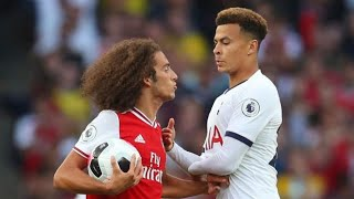 THE DIRTY SIDE OF DERBY ARSENAL VS TOTTENHAM●FIGHTS●RED CARDS