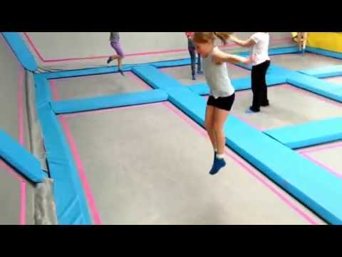 our trip to airhop trampoline park in guildford