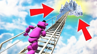 I CAN'T BELIEVE WHAT SHADOW FREDDY FOUND! STAIRWAY TO HEAVEN! (GTA 5 Mods FNAF Funny Moments)