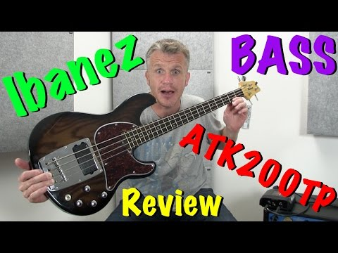 Ibanez ATK200 Bass Guitar