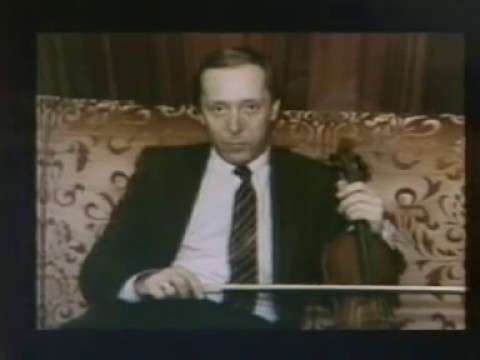 In memory of the great violinist Andrei Korsakov