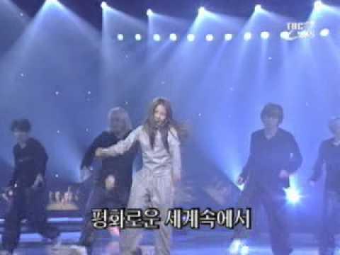 [000903] BoA - ID;Peace B @ Inkigayo