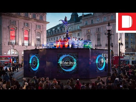 How Samsung Is Taking Over Piccadilly Circus With 24 Days Of Biometric Choirs
