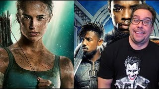 Black Panther 5-Peats While Tomb Raider Falls Just Short - Box Office