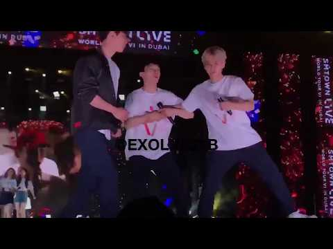 (180406) EXO - CUTE MOMENT @ SMTOWN IN DUBAI
