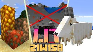 Minecraft 1.17: [Snapshot 21w15a] Co Nowego? BLOKI SUROWYCH RUD, USUNIĘTE NOWE JASKINIE!