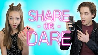 Shiloh & Bros Share What's In Their Phones | SHARE OR DARE