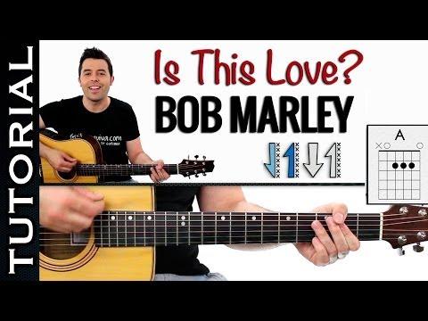 Cómo tocar Reggae Fácil Is This Love en guitarra fácil guitarraviva ...
