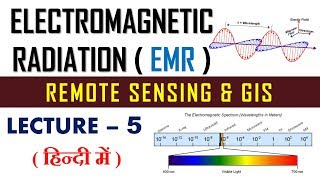 emr in remote sensing | remote sensing and gis | lecture 5