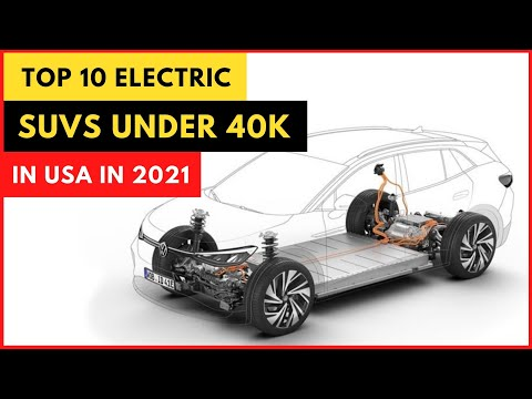 Top 10 Electric SUVs Under $40K in USA in 2021