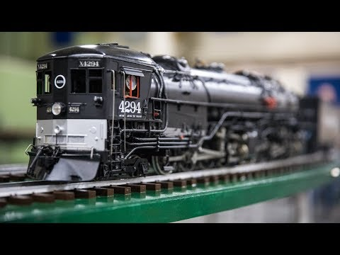Awesome Model Trains with Steam Locomotives!