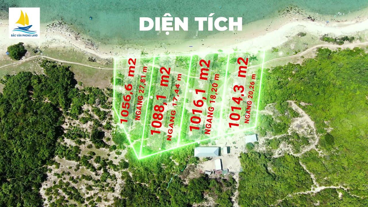 Chính chủ cần bán đất MT biển 85m, rạn san hô kì vĩ thôn Điệp Sơn, xã Vạn Thạnh, sổ đỏ, giá tốt video
