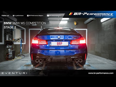 F90 BMW M5 Competition / Stage 2 / Eventuri intake
