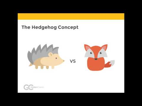 Kentico Market Insights Webinar - The Hedgehog Concept & Online Marketing